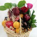 panier fleurs et fruits #1