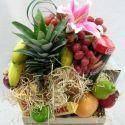 panier fleurs et fruits #2