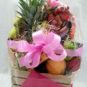 panier fleurs et fruits #3