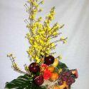 panier fleurs et fruits #6