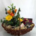 panier fleurs et fruits #5