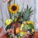 panier fleurs et fruits #9