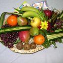 panier fleurs et fruits #12