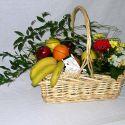 panier fleurs et fruits #11