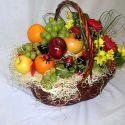 panier fleurs et fruits #10